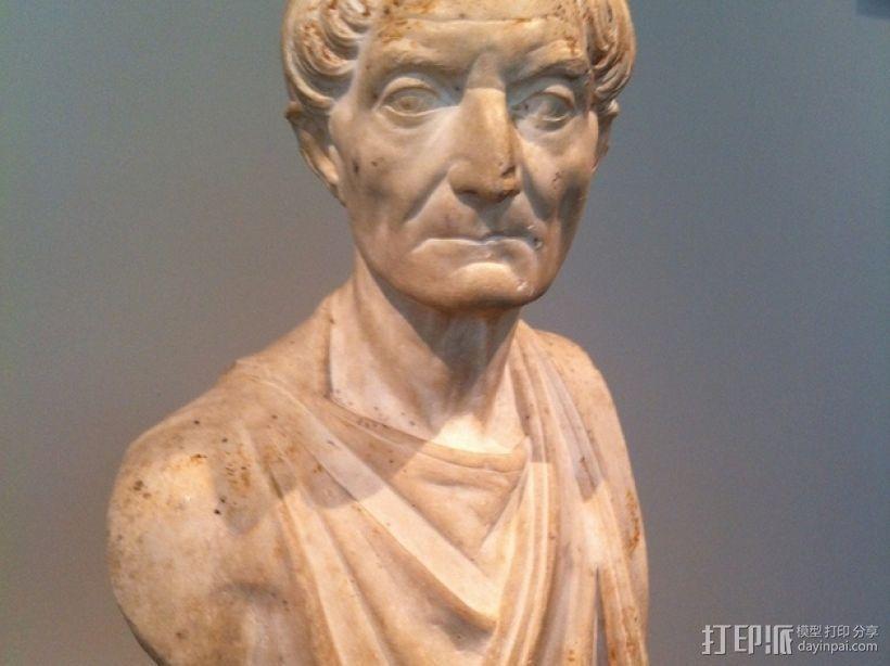 罗马时期祭司像 3D模型  图1