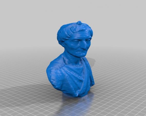 罗马时期祭司像 3D模型  图2