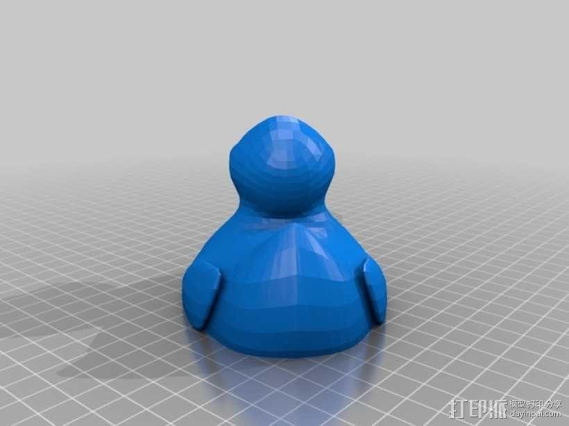 小鸭子 3D模型  图4