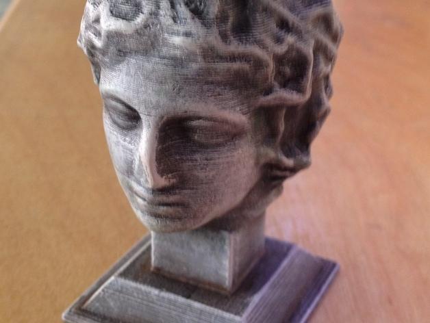 雕塑:年轻的人 3D模型  图2