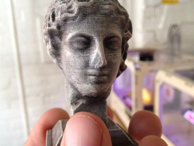 雕塑:年轻的人 3D模型  图1