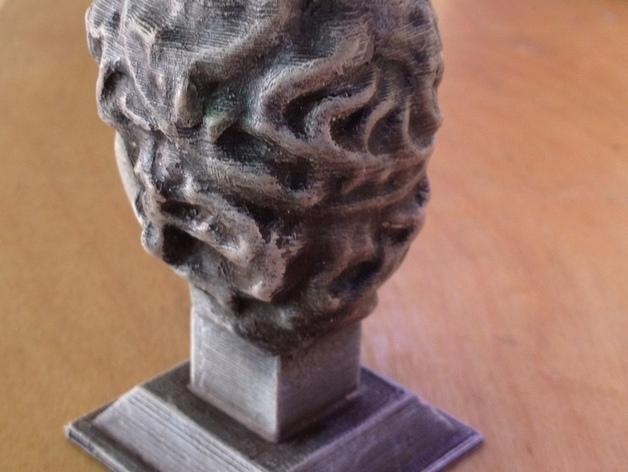 雕塑:年轻的人 3D模型  图4