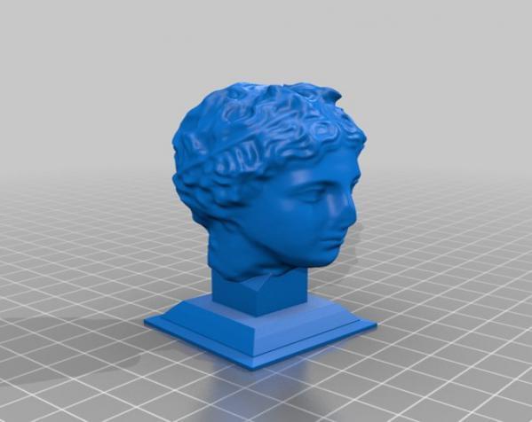 雕塑:年轻的人 3D模型  图5