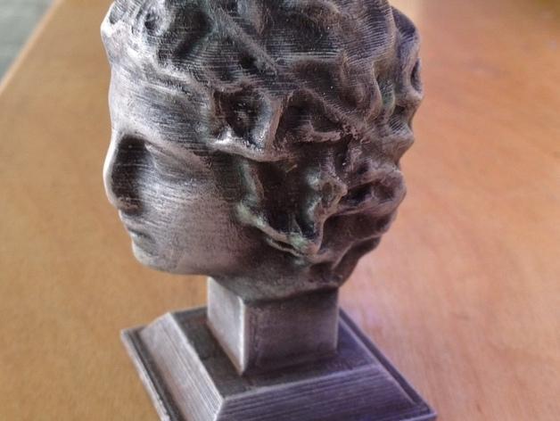 雕塑:年轻的人 3D模型  图3