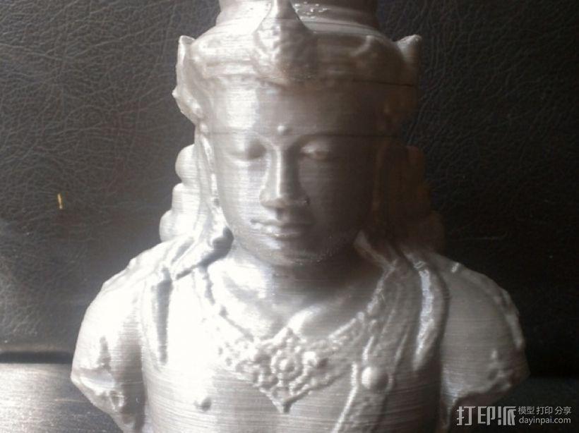 印尼佛像雕塑 3D模型  图2