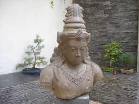 印尼佛像雕塑 3D模型