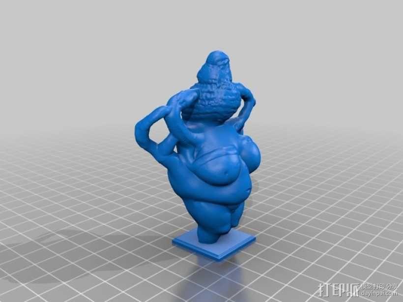 沃尔道夫的维纳斯 3D模型  图1