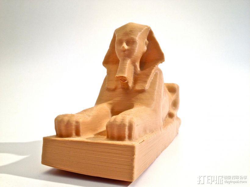 斯芬克斯狮身人面像 3D模型  图1
