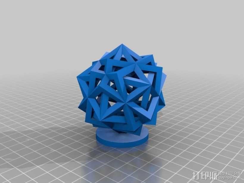 镂空立方体 3D模型  图1