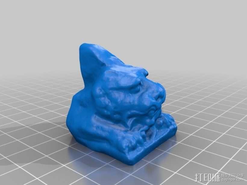 北齐朝代石狮子 3D模型  图11