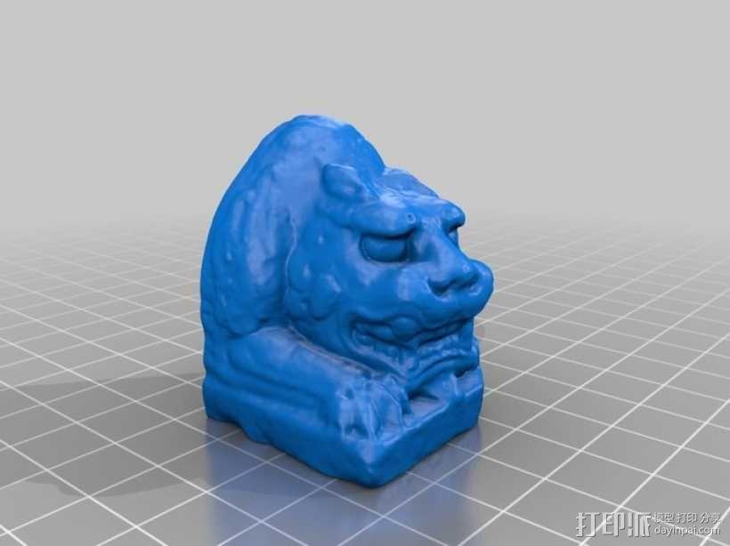 北齐朝代石狮子 3D模型  图13