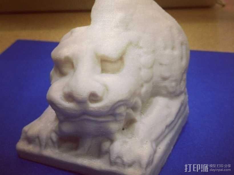 北齐朝代石狮子 3D模型  图14