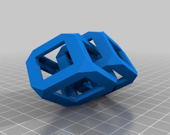 镂空立方体 3D模型  图2