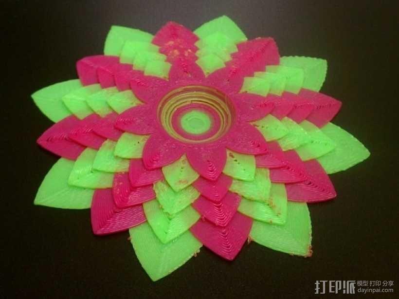 莲花 3D模型  图3