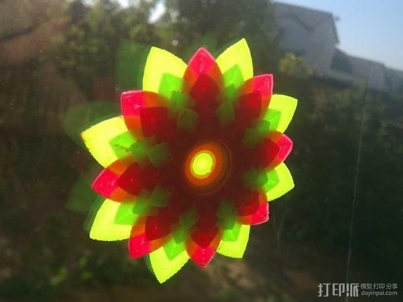 莲花 3D模型  图4