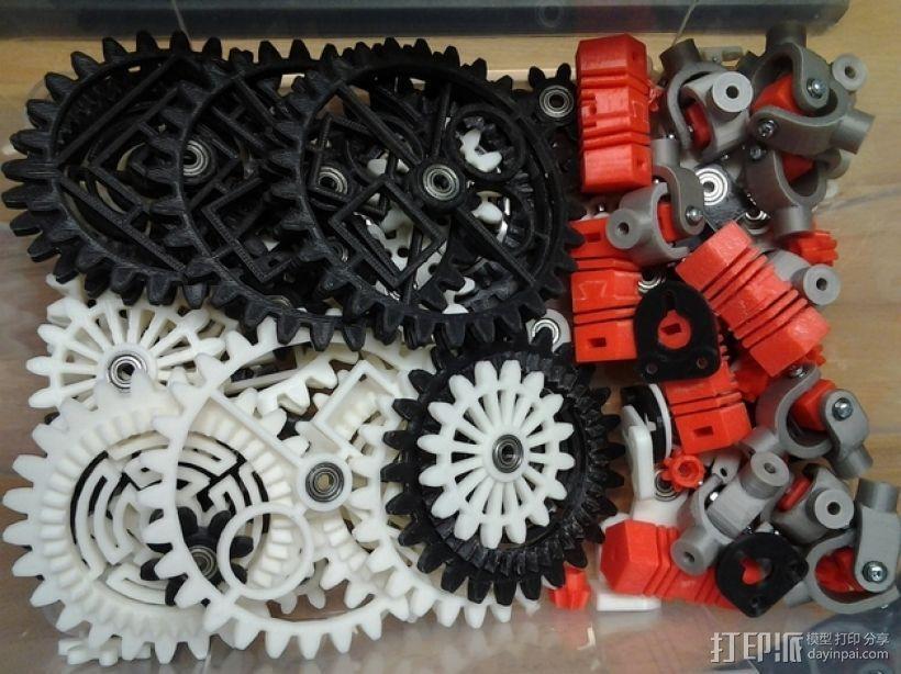 动态艺术:齿轮 3D模型  图11