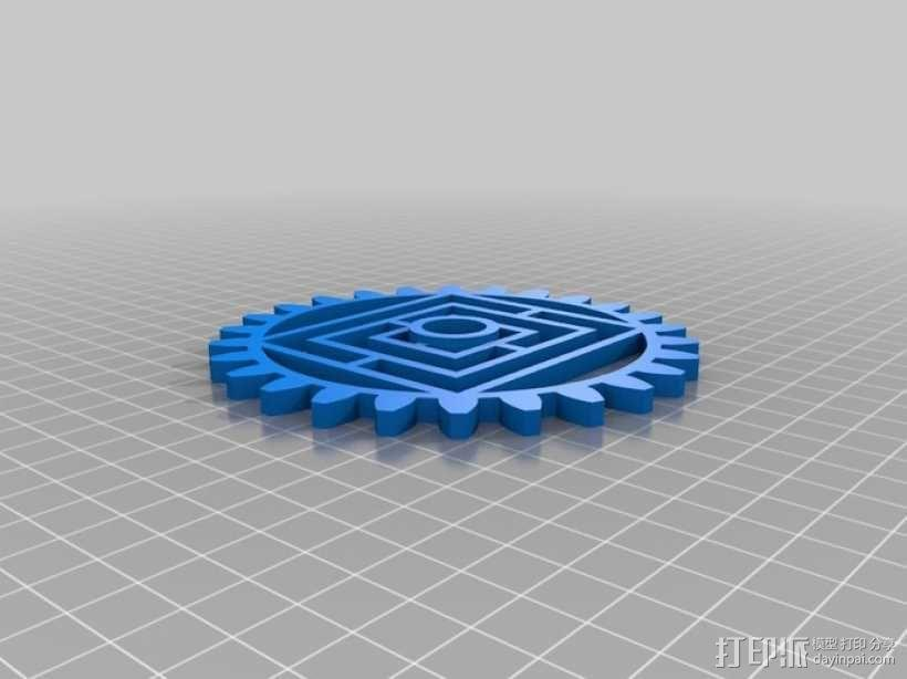 动态艺术:齿轮 3D模型  图15