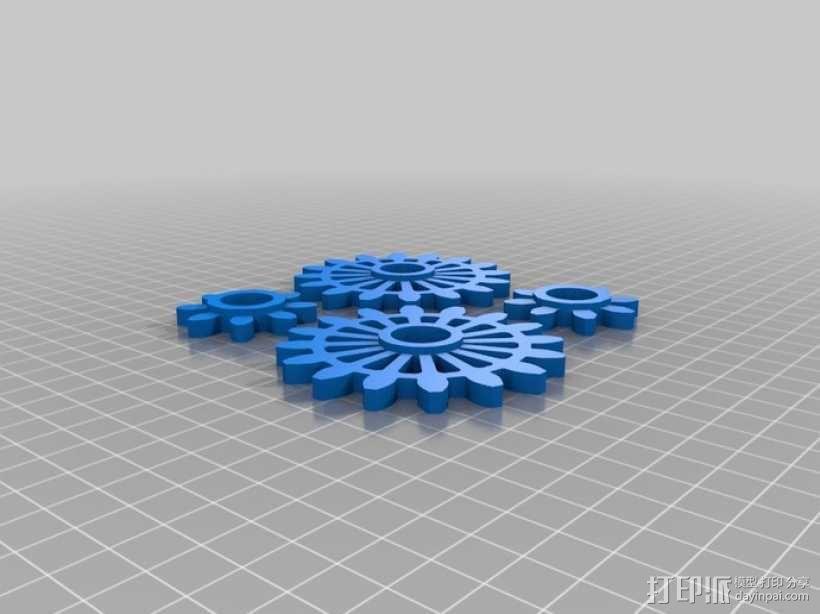 动态艺术:齿轮 3D模型  图17