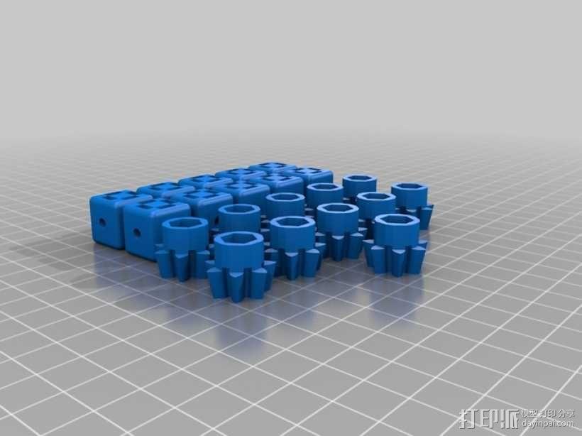 动态艺术:齿轮 3D模型  图26