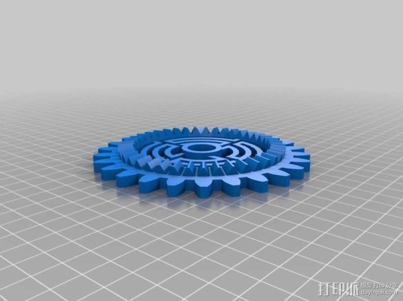 动态艺术:齿轮 3D模型  图27