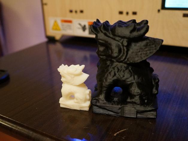 麒麟塑像 3D模型  图4