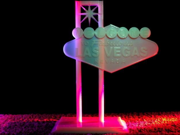 拉斯维加斯标志 3D模型  图6