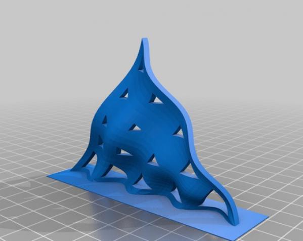 参数化正弦波曲面 3D模型  图3