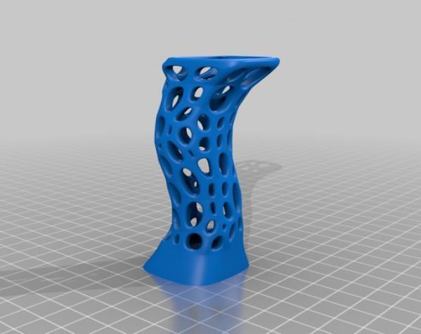 参数化镂空雕塑 3D模型  图3