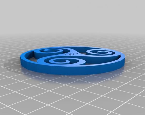 CGS凯尔特人标志 3D模型  图3