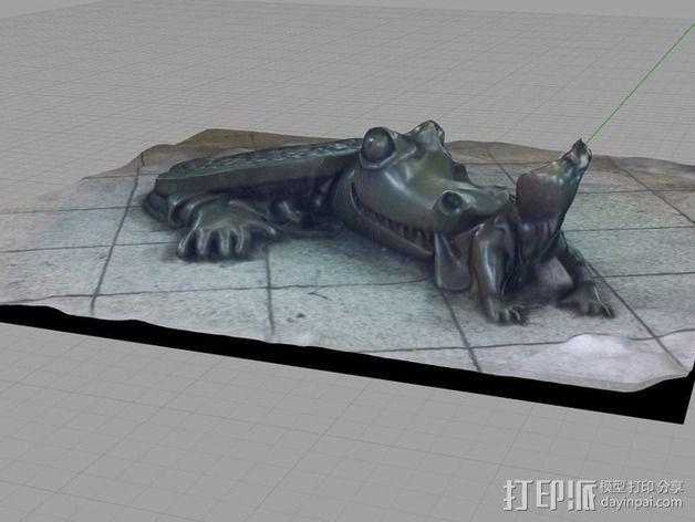 《地下生活》雕塑 3D模型  图2