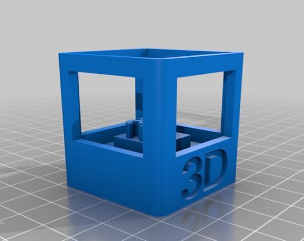 3D打印技能徽章 3D模型  图2