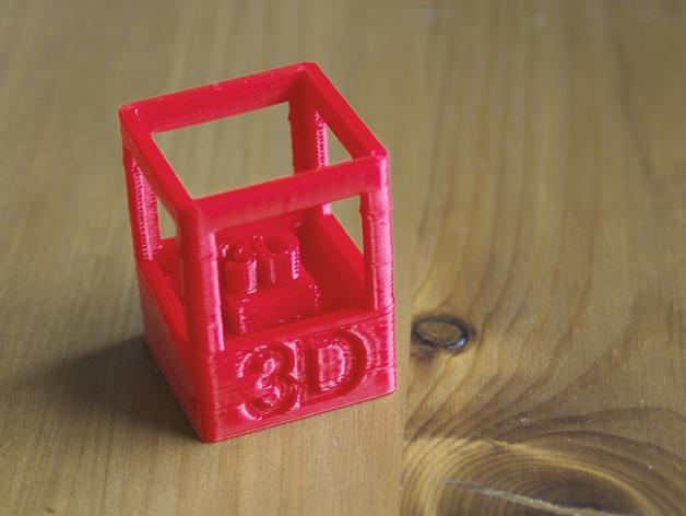 3D打印技能徽章 3D模型  图1