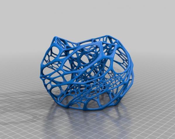 镂空灯罩 3D模型  图4