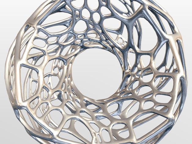 镂空灯罩 3D模型  图3