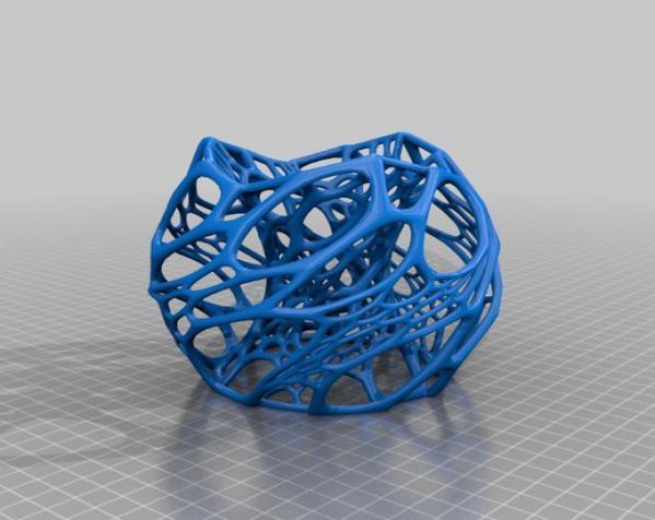 镂空灯罩 3D模型  图5