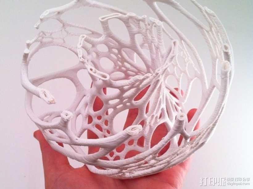镂空灯罩 3D模型  图6