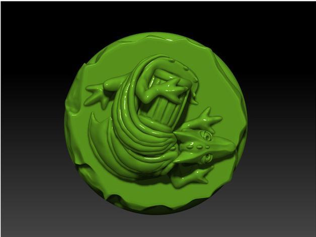 宠物藏宝箱雕塑 3D模型  图5