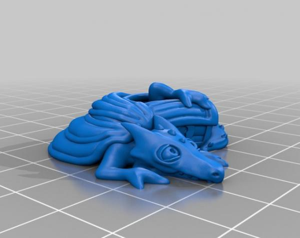 宠物藏宝箱雕塑 3D模型  图7