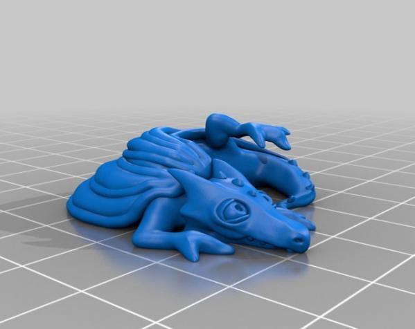宠物藏宝箱雕塑 3D模型  图9