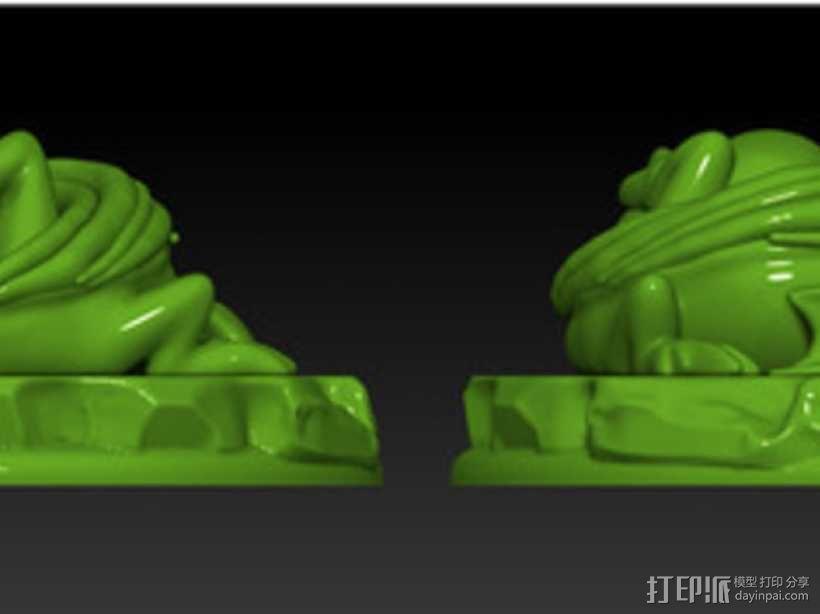 怪物宠物雕塑 3D模型  图4