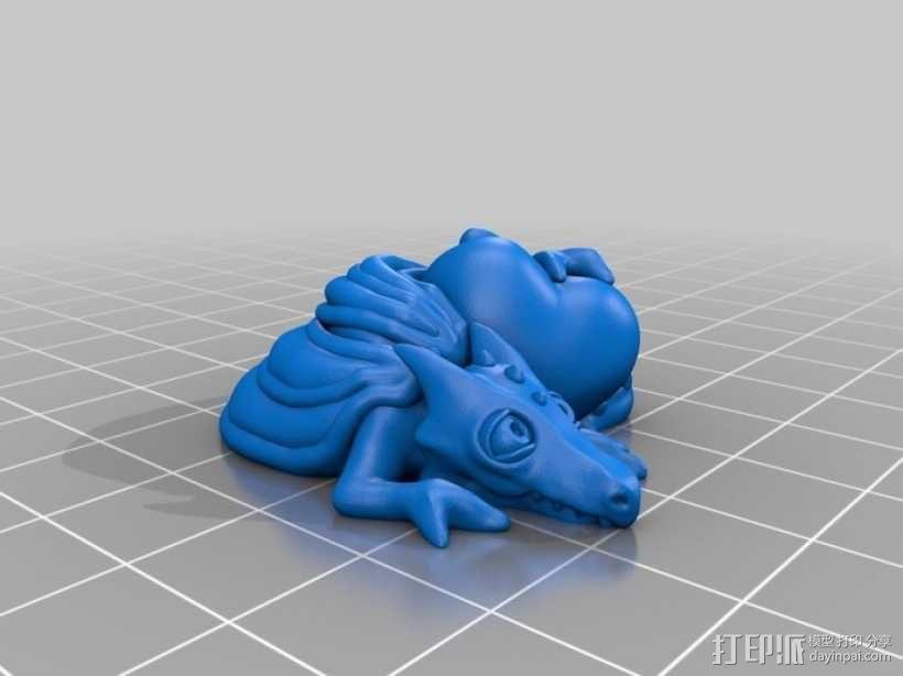 怪物宠物雕塑 3D模型  图6
