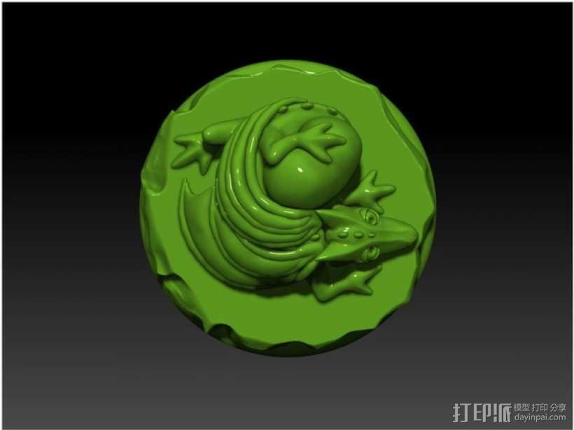 怪物宠物雕塑 3D模型  图5