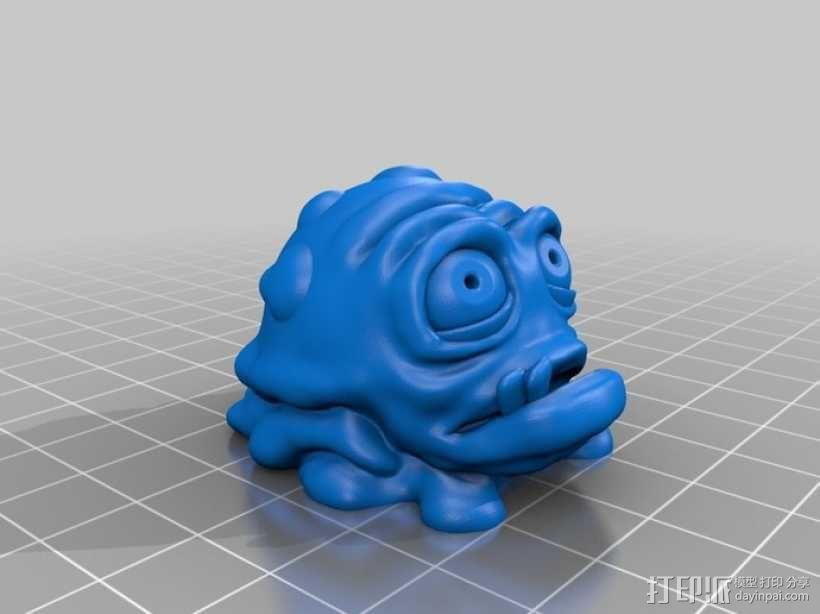 怪物宠物Nugget 3D模型  图6
