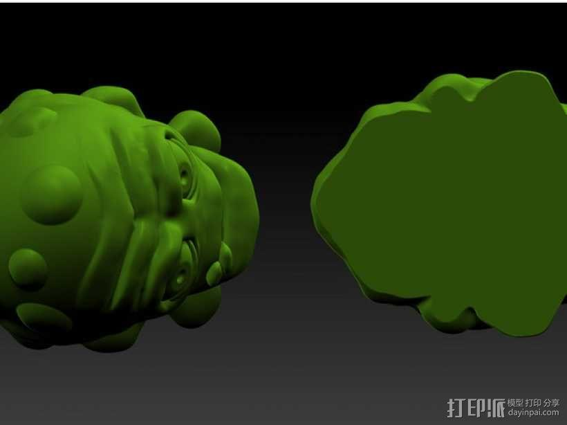怪物宠物Nugget 3D模型  图5