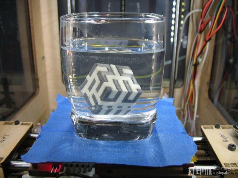 希尔伯特立方体 3D模型  图3
