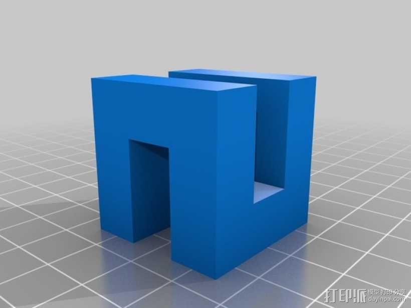 希尔伯特立方体 3D模型  图4