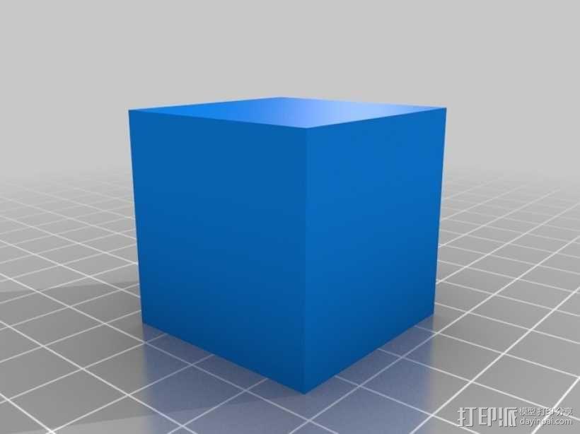 希尔伯特立方体 3D模型  图8