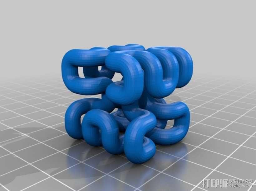 希尔伯特立方体 3D模型  图7
