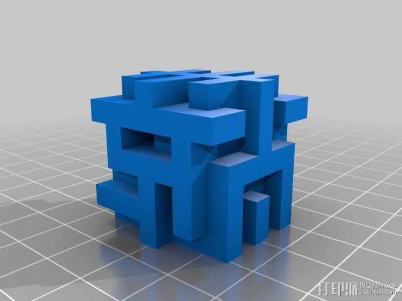希尔伯特立方体 3D模型  图9