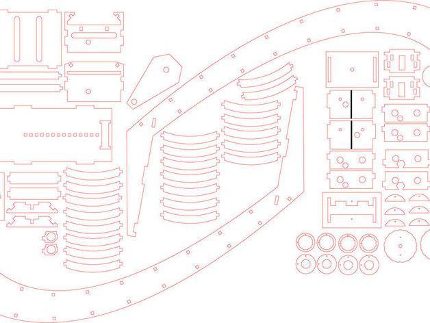 摄影机稳定器 3D模型  图4